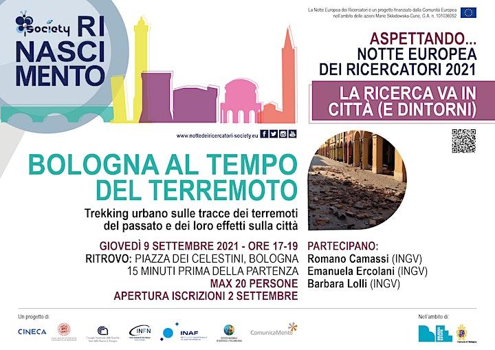 Immagine Bologna al tempo del terremoto.