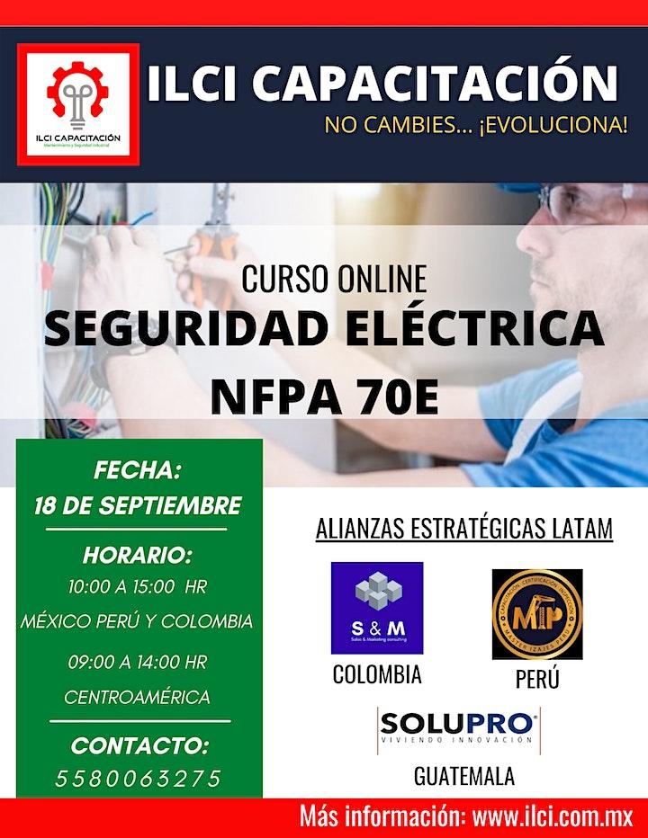 """Imagen de Curso Online """"Seguridad eléctrica NFPA 70E"""""""