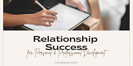 Relationship Success Workshop tickets