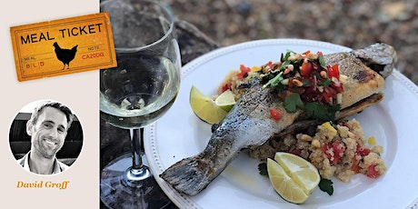 MealticketSF's Private Live Cooking Class  - Pan Seared Trout. Farro Salad. tickets