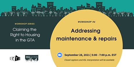 Addressing maintenance and repairs as systemic housing issues in the GTA tickets