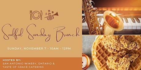 Soulful Sunday Brunch @ San Antonio Winery, Ontario tickets
