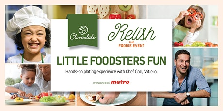 RELISH The Foodie Event - Little Foodsters Fun with Chef Cory Vitiello tickets