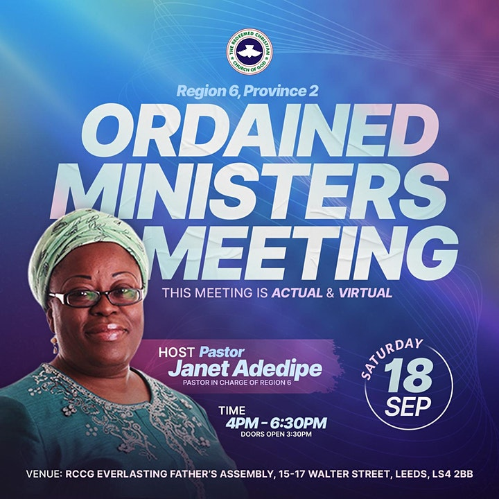 RCCG REGION 6, PROVINCE 2 ORDAINED MINISTERS CONFERENCE image
