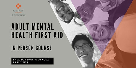 Adult Mental Health First Aid (in-person) tickets