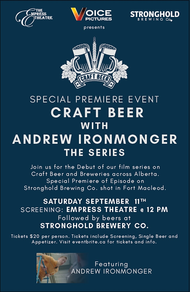Premiere Craft Beer with Andrew Ironmonger featuring Stronghold Brewing Co image