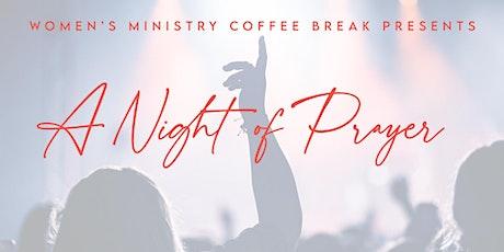 Coffee Break Special Edition: A Night of Prayer tickets