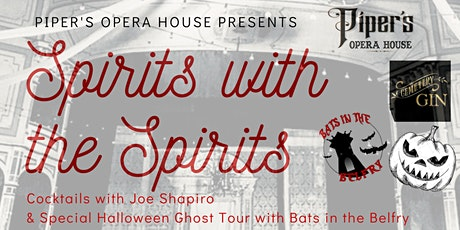 Halloween Spirits with the Spirits & Ghost Tour tickets