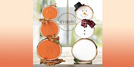 Reversible Pumpkin/Snowman: Sip and Craft at Magnanini Winery tickets