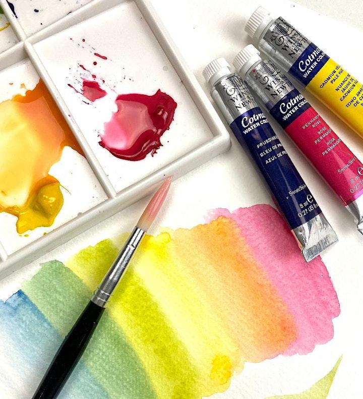 Exploring Watercolour Techniques - with Liz Rogers image