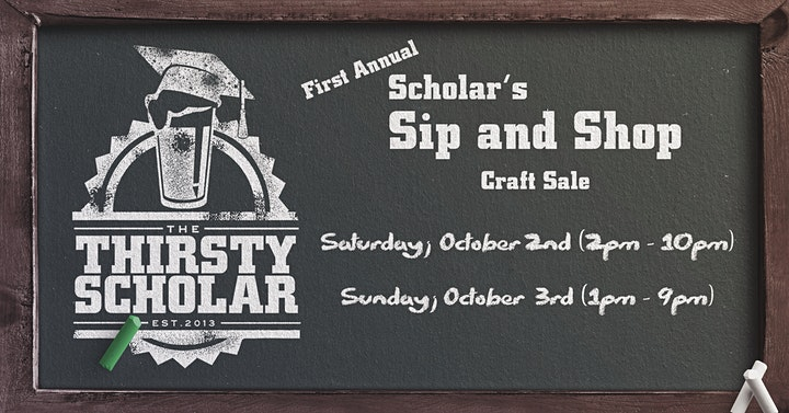 The Scholar's Sip and Shop Craft Sale image
