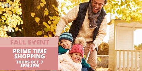 Kids' Consignment Prime Time Shopping tickets