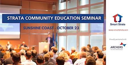 Strata Community Education Seminar - Sunshine Coast tickets