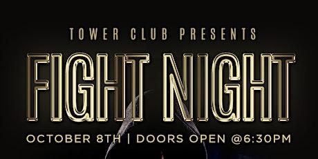 LIVE FIGHT NIGHT tickets