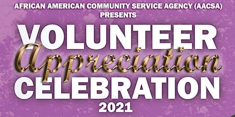 Volunteer Appreciation Celebration 2021 tickets