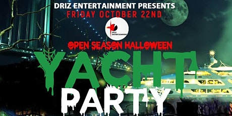 HALLOWEEN YACHT PARTY (Haunted Yacht) tickets