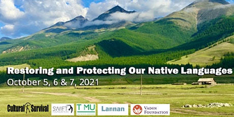 Restoring and Protecting our Native Languages and Landscapes tickets