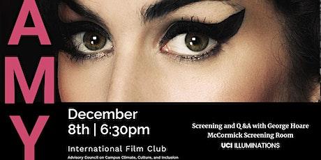 International Film Club - Amy (Asif Kapadia, 2015) tickets