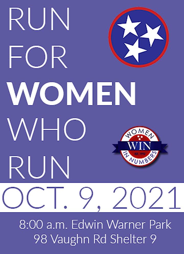 Run For Women Who Run image