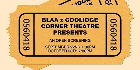 BLAA Presents tickets