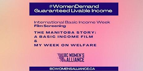 International Basic Income Week Film Screening tickets