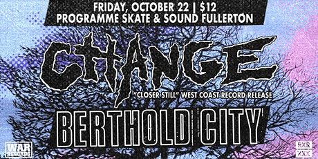 Change and  Berthold City at Programme tickets