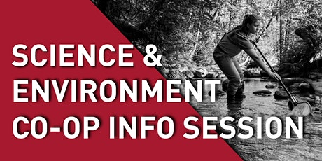 Science & Environment Co-op Info Session tickets