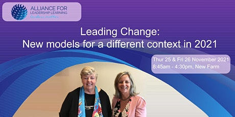 Leading Change: New models for a different context in 2021 tickets