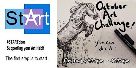 October Art Challenge Club tickets