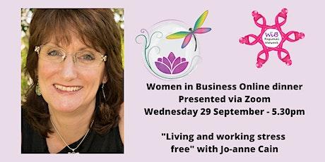 Women in Business Online dinner - 29/9/2021 tickets