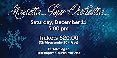 Marietta Pops Holiday Concert Dec. 11,  5:00pm tickets