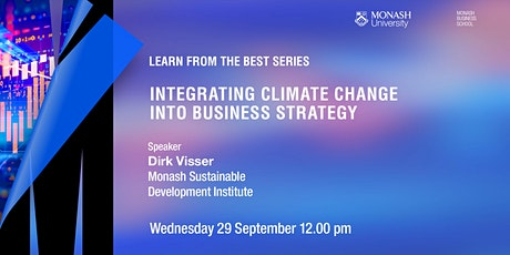 Integrating climate change into business strategy tickets