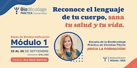 Biodescodificación Bases Módulo 1|  ONLINE tickets