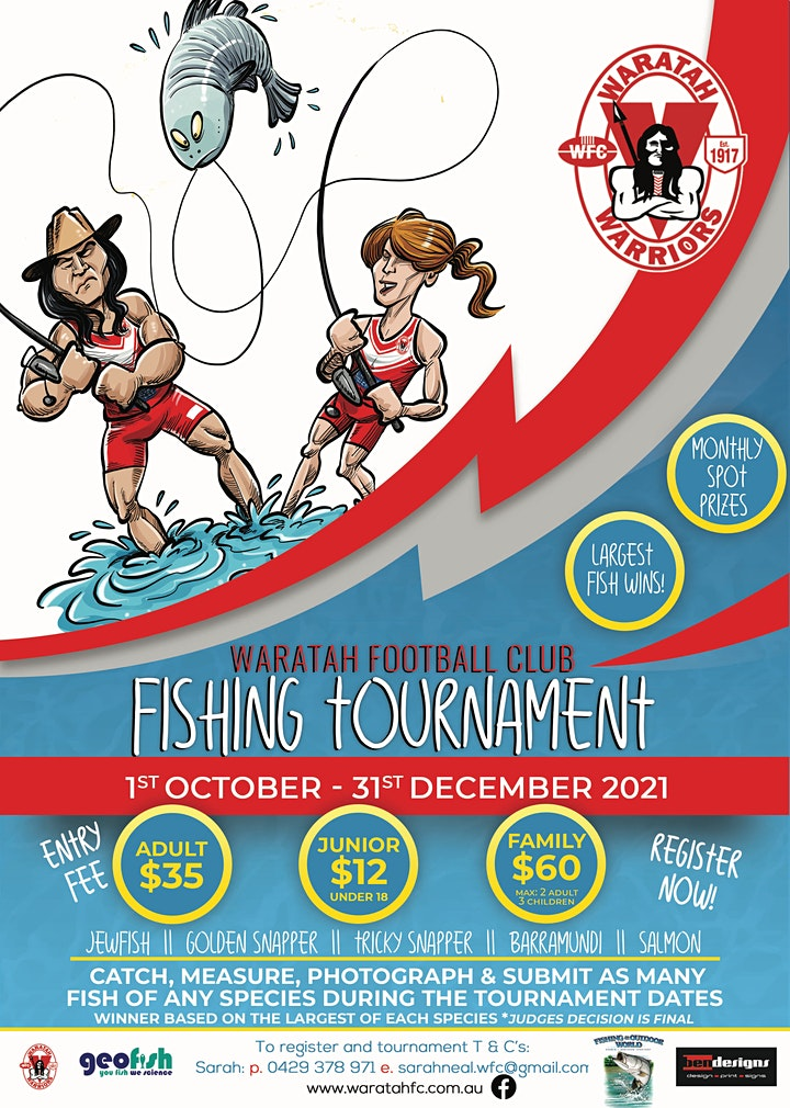 Waratah Football Club Fishing Tournament image