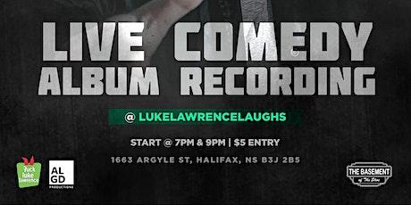Luke Lawrence Live @ The Basement - 7pm Show (Album Recording) tickets