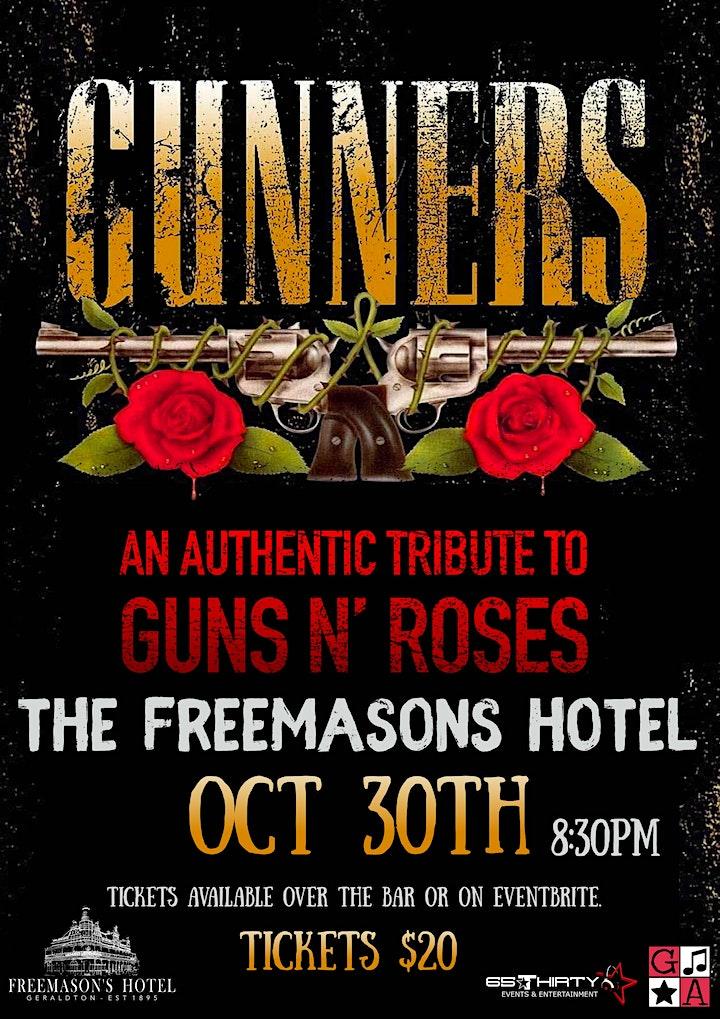 Gunners at The Freemasons Hotel image