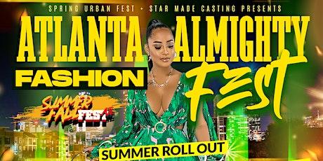 "Vendors | Summer Fall Fest Atlanta Almighty ""Summer Rollout"" Vol.5 tickets"