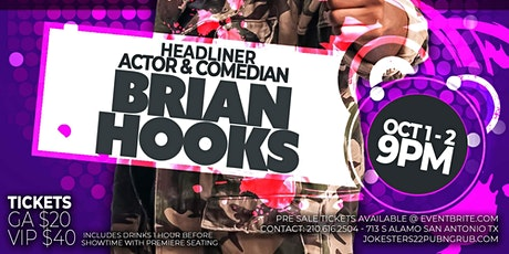 BRIAN HOOKS LIVE at Jokesters 22 tickets