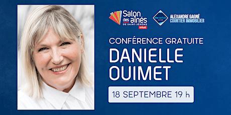 Conférence gratuite de Danielle Ouimet tickets