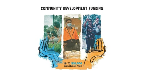 Hands-on Help workshop: grant writing for community development funding tickets