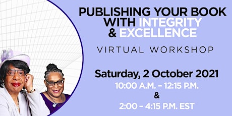 Publishing Your Book with Excellence and Integrity! tickets