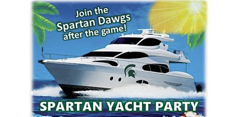 Spartans Take Miami Yacht Party tickets