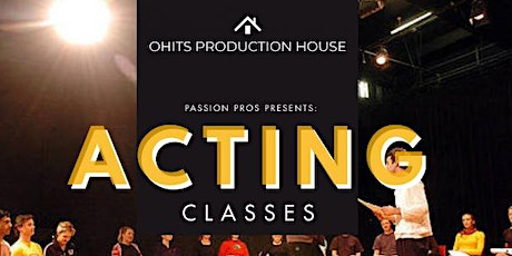 ACTING CLASSES 101 tickets