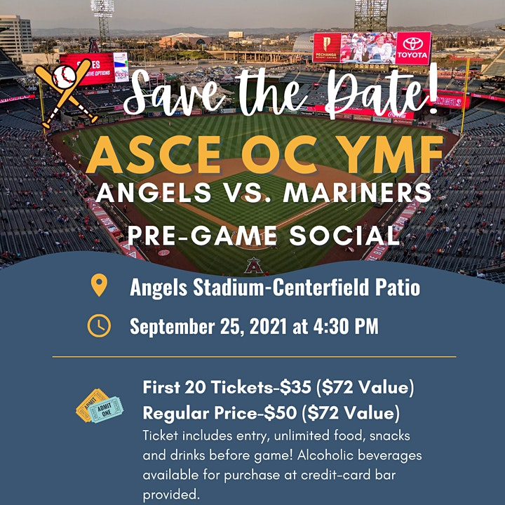 ASCE OC Angels Game Social image