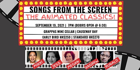 Songs From The Screen: The Animated Classics tickets
