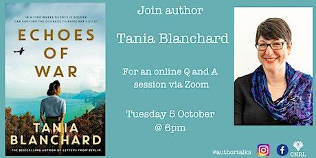Tania Blanchard Online Author Talk tickets