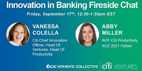 ACE Fireside Chat: Innovation in Banking with Citi's CIO, Vanessa Colella tickets