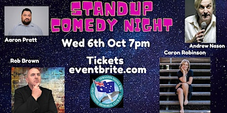 Get some laughing in and be entertained by your Emcee and  3 Funny  Talents tickets