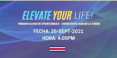 Elevate you life! entradas