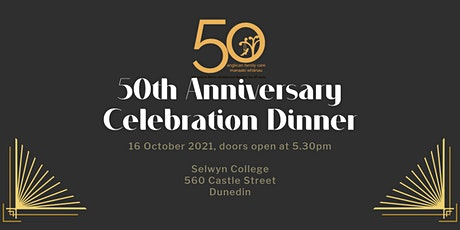 50th Anniversary Celebration Dinner tickets
